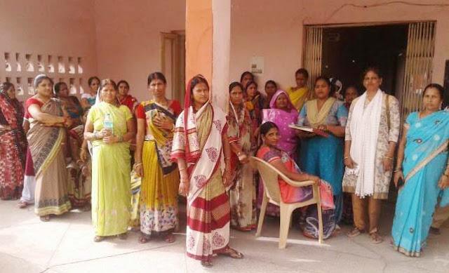 womens-agitation-against-wine-shop-chauhan-colony-tigaon-faridabad