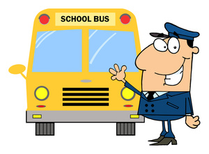 city bus driver clipart - photo #24