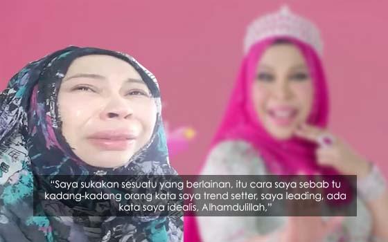 Luahan Sayu Dato Seri Vida Apabila Dikecam Macam Badut