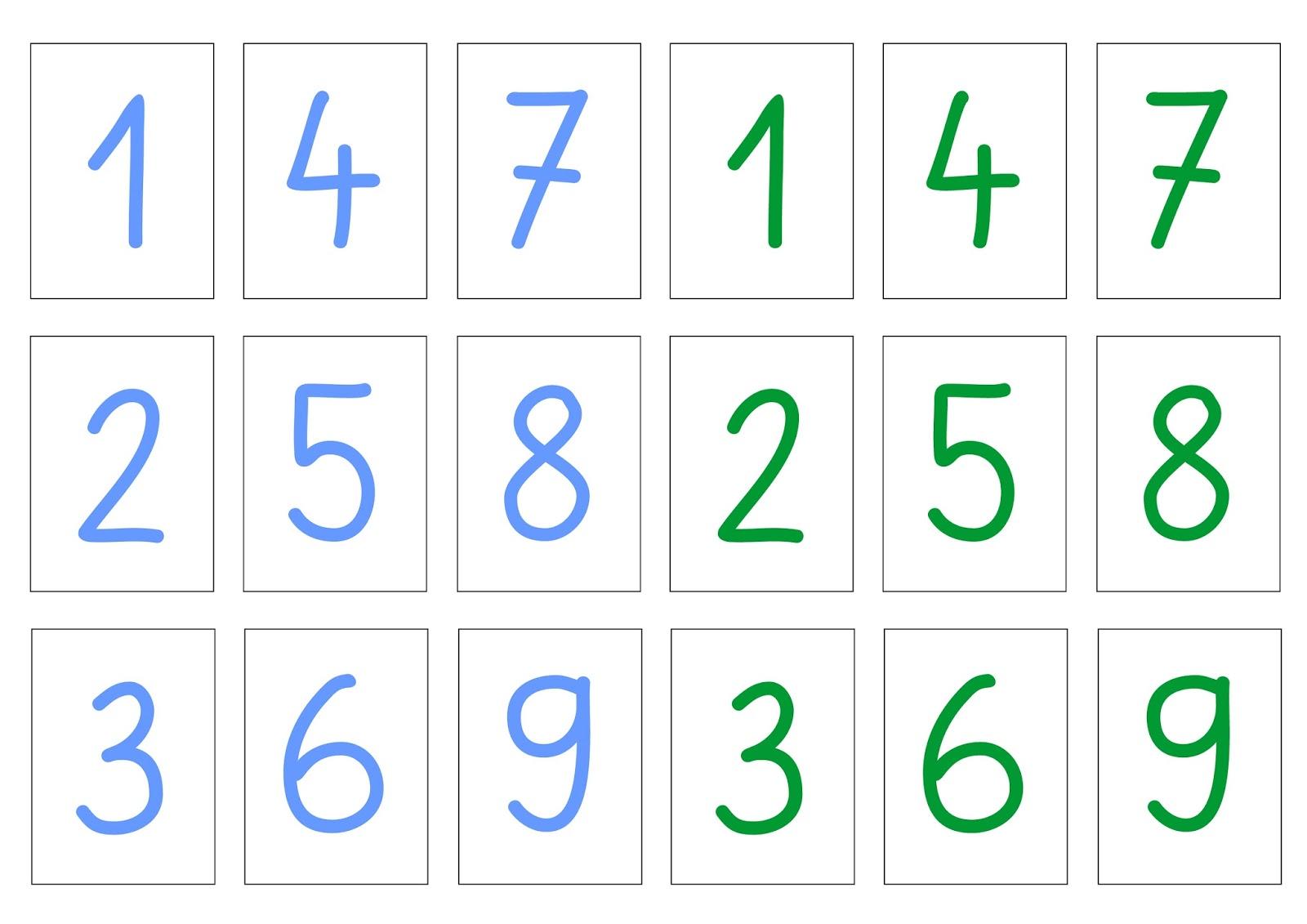 Lernstübchen: Zahlen legen