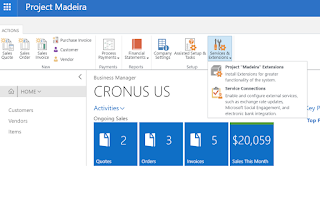 Project Madeira Extensions: Extension Marketplace (Microsoft AppSource)