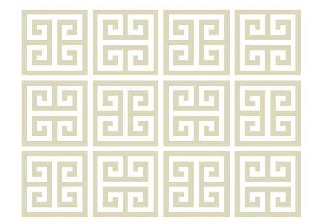 *WHITE GLAM*: PAPEL DE PAREDE FÁCIL! ** Easy wallpaper!