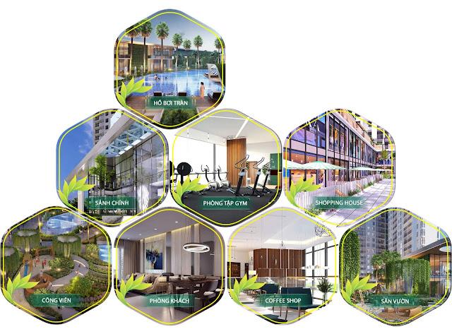 Các tiện ích nội khu cao cấp của dự án Charmington Iris