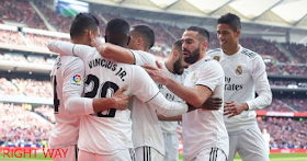 Real Madrid overtake Atletico as Casemiro Ramos and Bale the derby victory