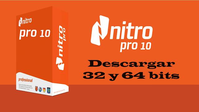nitro pdf full mega 64 bits español gratis