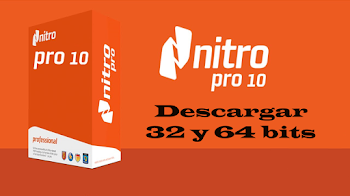 Descargar e instalar Nitro Pro 10 | 32 y 64 bits