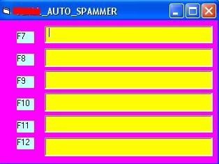 Online Chatroom Spammer Bot - 6 DIFFERENT MESSAGES MULTI