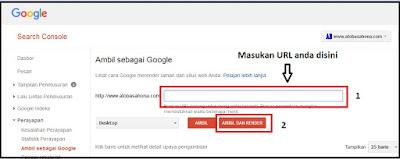 Cara Melakukan Ping URL Ke Google