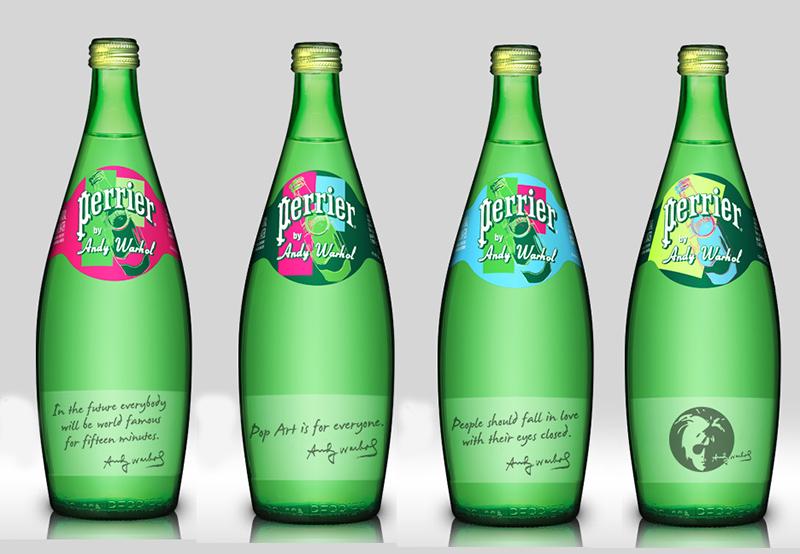 Perrier By Warhol
