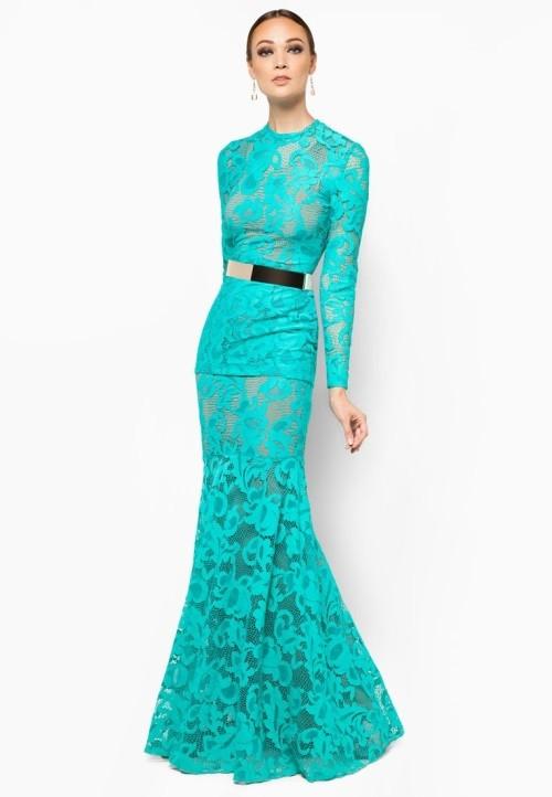 Trend Baju Kurung Modern Terkini - Fieyqa Adelova.