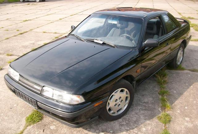 mazda 626 coupe gd gt 1990, 6200 zł   bazar rdzy