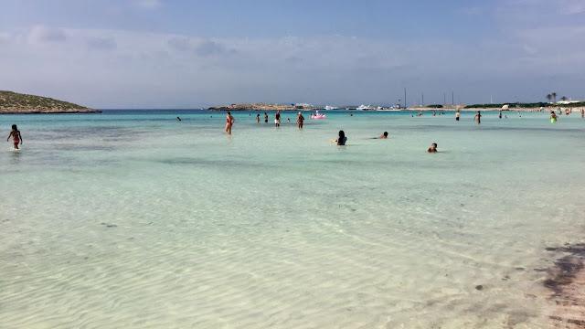 una cartolina da Formentera
