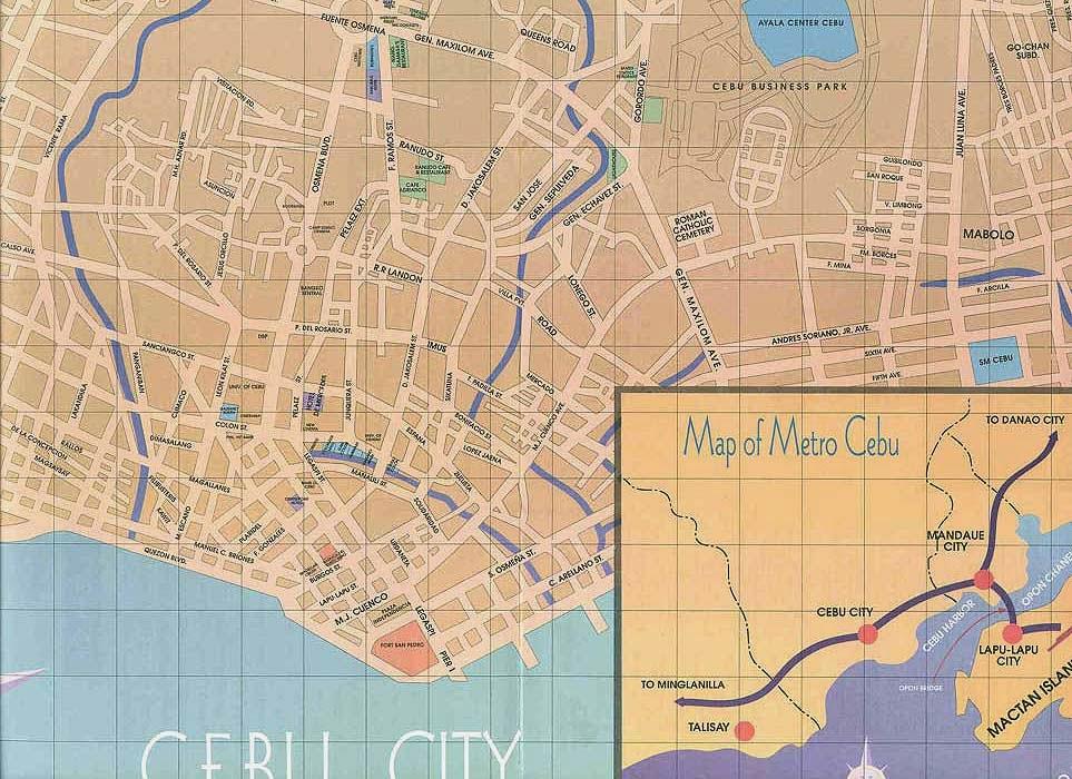 Map Cebu City Adlawon
