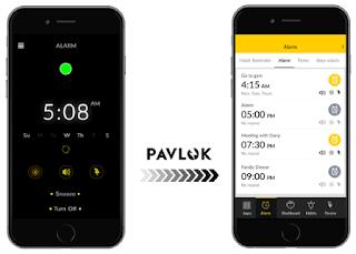 Shock Clock le réveille programmable par Smartphone