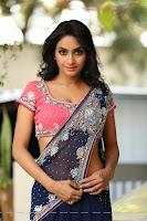 Actress Pooja Sree Saree Photos