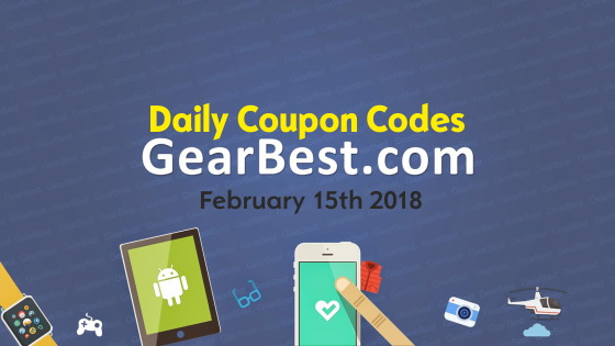 Gearbest daily coupons