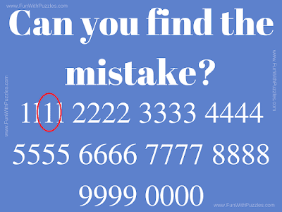 Answer of IQ Test Picture Puzzle