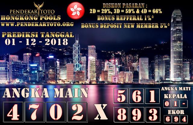 Prediksi Hongkong Tanggal 01 Desember 2018
