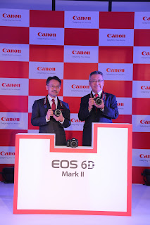 """Give your photography a """"Sense of Genius"""" with the newly launched versatile Full Frame camera - EOS 6D Mark II"""