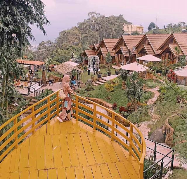 Penginapan Asri dan Apik di Resort Mbah Djoe