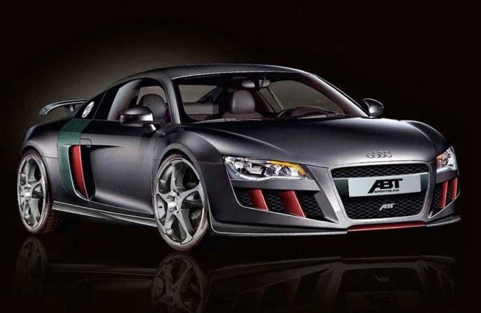 Audi R8 Abt Black Wallpaper Widescreen Hd Wallpapers Sport Car
