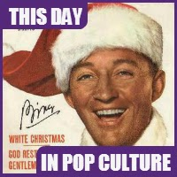 "The song ""White Christmas"" was recorded by Bing Crosby on May 29, 1942."