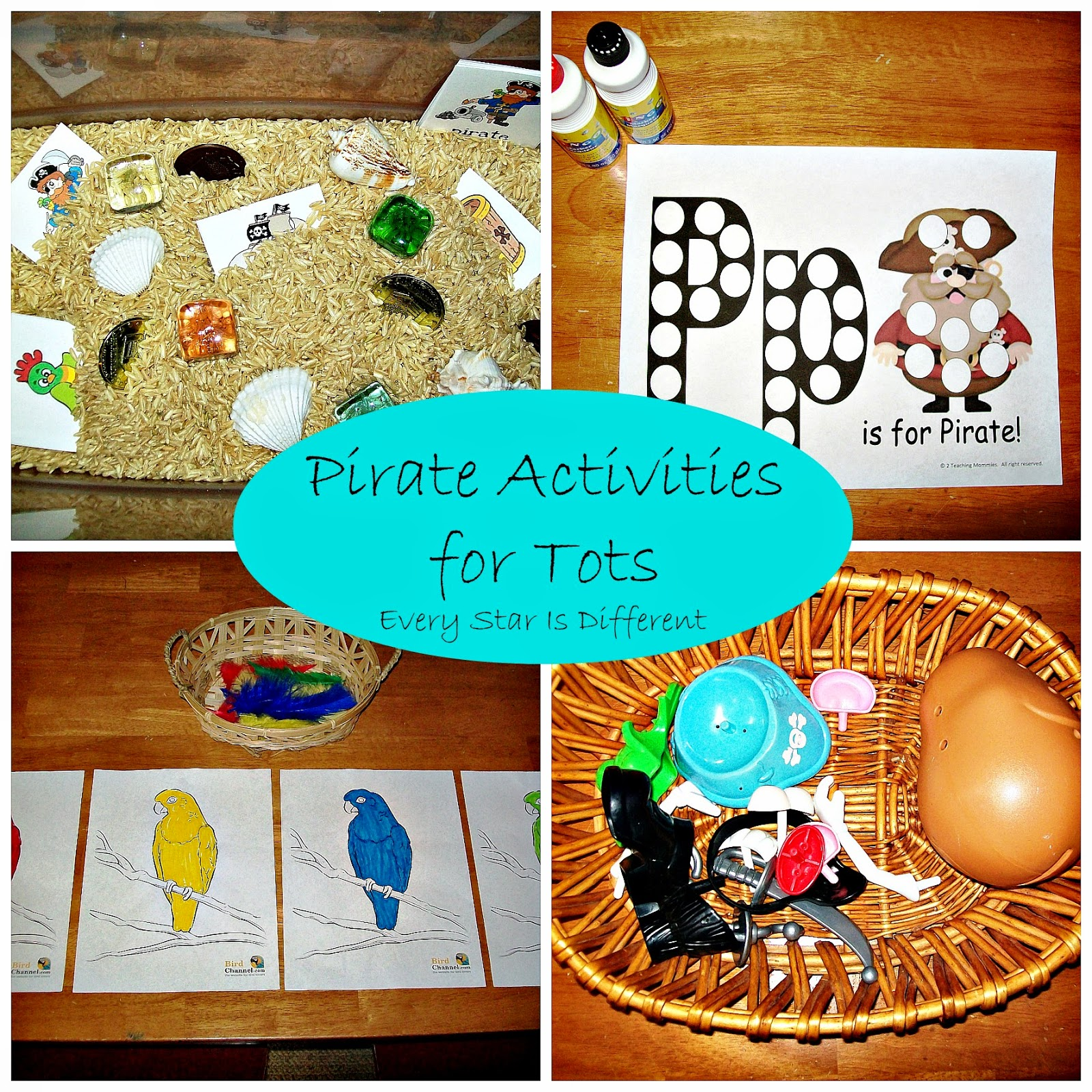 Pirate Activities for Tots