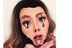Mengerikan, Wajah Cantik Wanita Ini 'Meleleh'