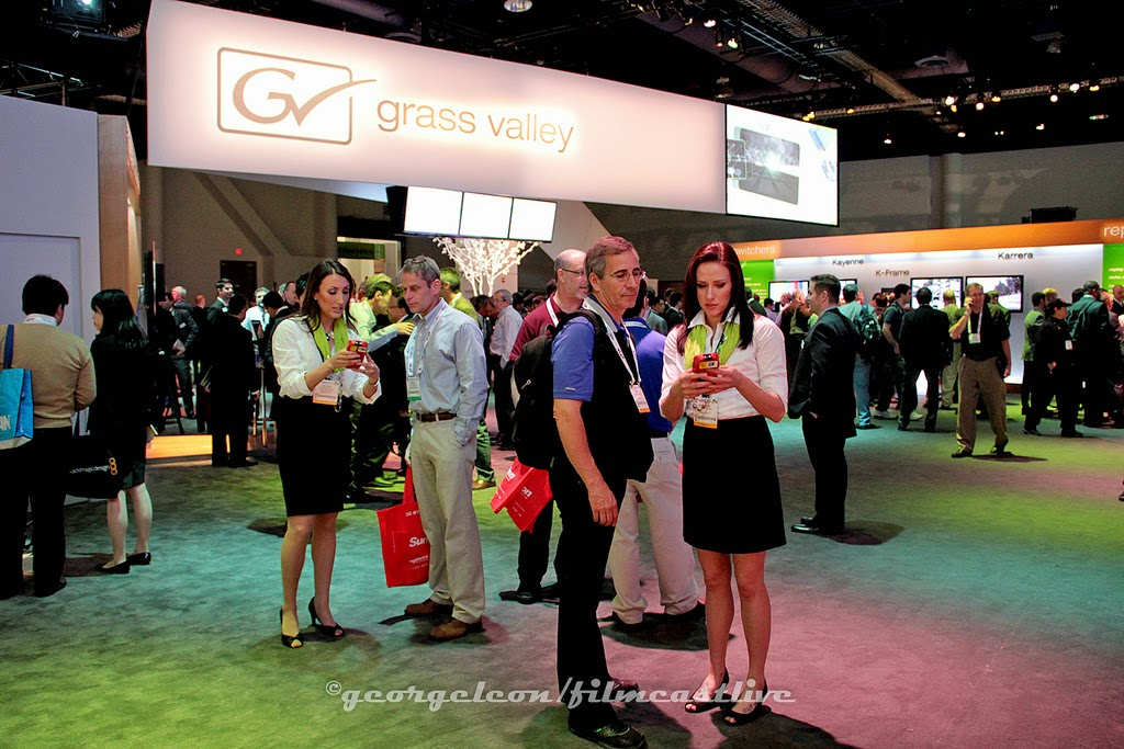 NAB Show Grass Valley ©george leon still & motion