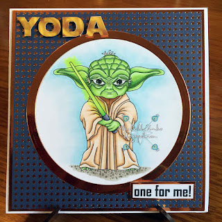 Sassy Studio Designs Yoda Honey