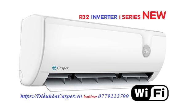 Điều hòa casper R32 i-series inverter 2019