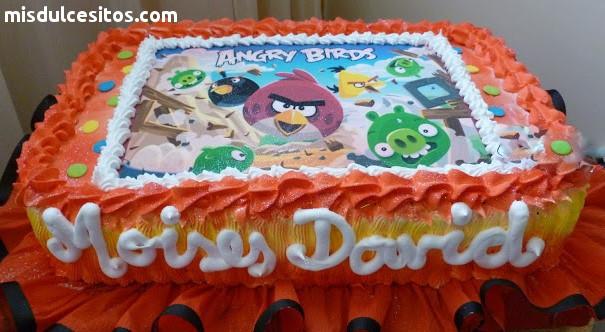 Tortas Infantiles Angry Birds. Venta de tortas para cumpleaños infantiles en Lima