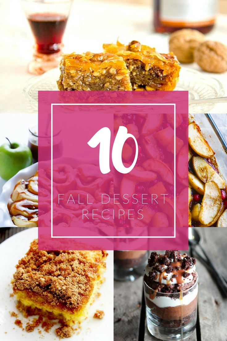Fall desserts you should bake this Fall | Ioanna's Notebook