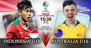 Susunan Pemain Indonesia vs Australia - Perempat Final Piala AFC U-16 #TimnasDay