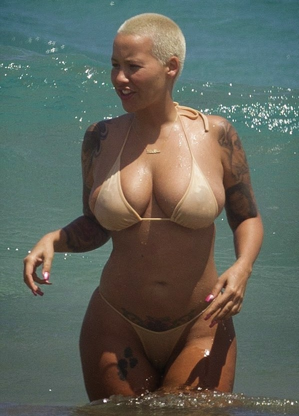 Amber Rose Topless 74