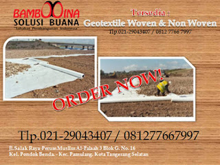 Supplier geotextile di kalimantan timur