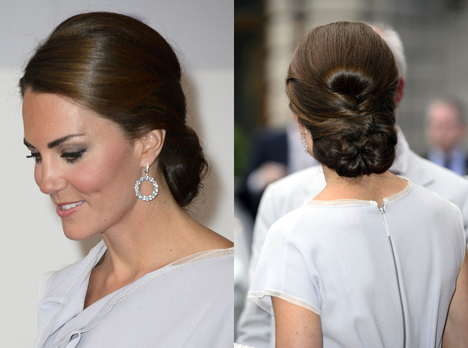 vicky brown hair and make up kate middleton wedding hair winter 2012 spring 2013
