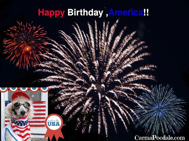 Fireworks, birthday, America, CarmaPoodale