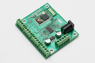 TouchDRO Adapter Board for iGaging Scales - board with pre-installed screw terminals