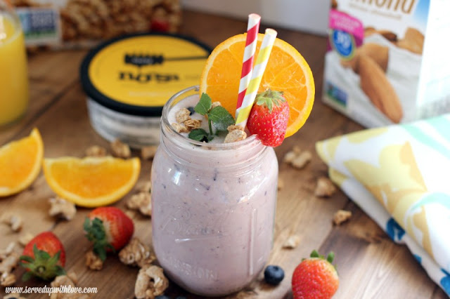 Sunshine Smoothies recipe from Served Up With Love