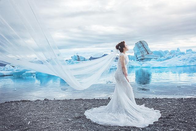 冰島婚紗照景點攝影師自主婚紗海外旅拍