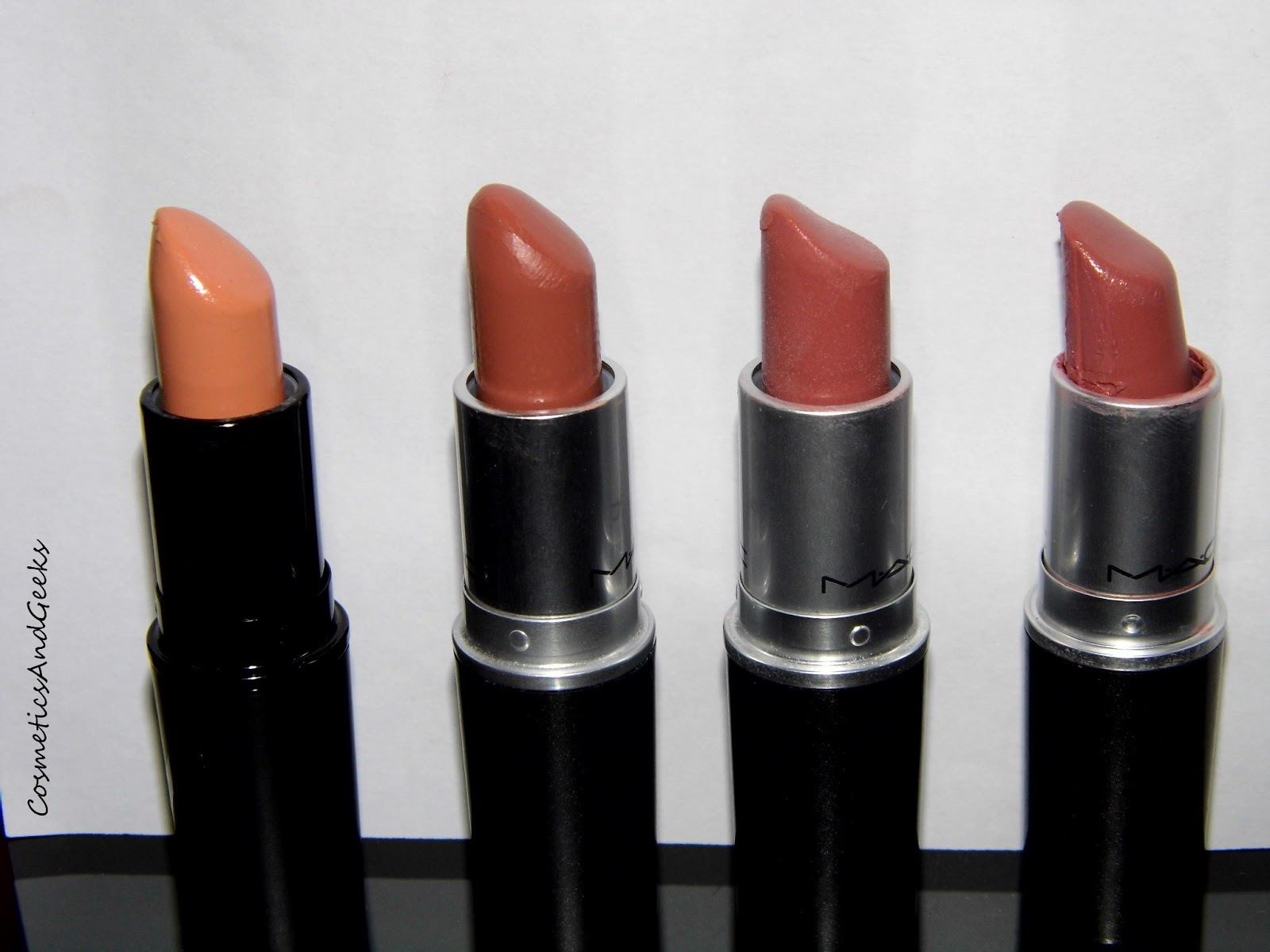 chrystellemakeup swatches rouge a levres mac cosmetics. Black Bedroom Furniture Sets. Home Design Ideas
