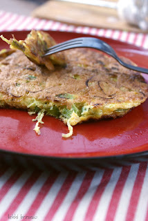 puszysty omlet z 1 jajka