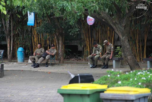 Keamanan Taman Alun Kapuas Wisata Kota Pontianak - kaharsan