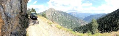 Geländewagen Off road Andorra Os de civis