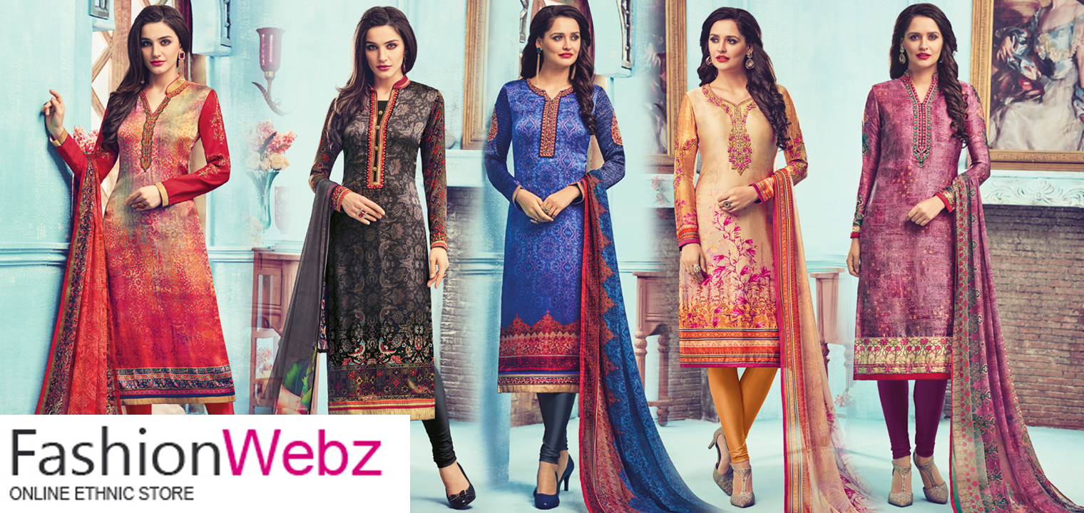 Churidar Salwar Kameez for Different Occasions