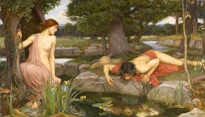 Eco e Narciso Waterhouse, 1903 Walker Art Gallery, Liverpool