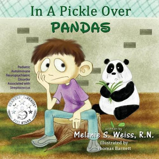 In a Pickle Over PANDAS is a book for kids with PANDAS or PANS