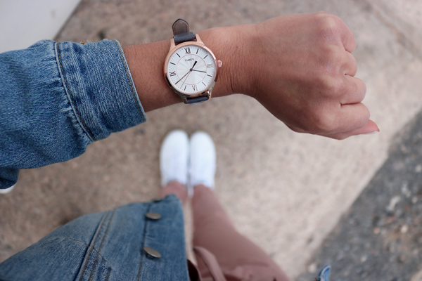 Gray, Rosegold, Timex, Women's Watch, Spring, Accessory