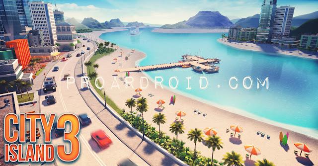 لعبة City Island 3 - Building Sim v2.4.0 مهكرة للاندرويد (اخر اصدار) logo